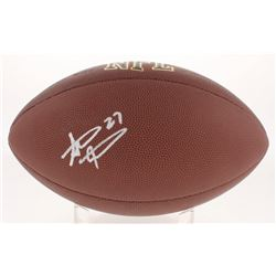 Steve Atwater Signed NFL Football (Beckett COA)