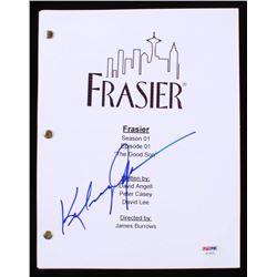 """Kelsey Grammer Signed """"Frasier: The Good Son"""" Episode Script (PSA COA)"""