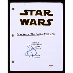 """J. J. Abrams Signed """"Star Wars: The Force Awakens"""" Full Movie Script (PSA COA)"""