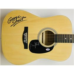 George Strait Signed Acoustic Guitar (PSA COA)
