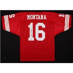 Joe Montana Signed San Francisco 49ers Jersey (Radtke COA)