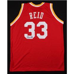 Robert Reid Signed Houston Rockets Jersey (JSA COA)