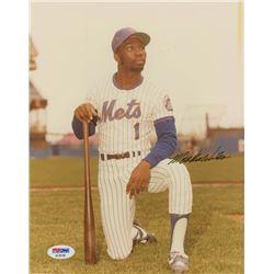 Mookie Wilson Signed New York Mets 8x10 Photo (PSA COA)