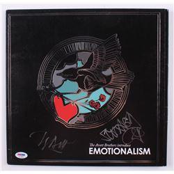 "Scott Avett  Seth Avett Signed ""Emotionalism"" Vinyl Record Album (PSA COA)"