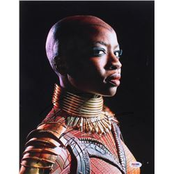 "Danai Gurira Signed ""Black Panther"" 11x14 Photo (PSA Hologram)"
