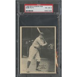 1929 R316 Kashin Publications Babe Ruth (PSA 4)