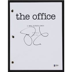 "Steve Carell Signed ""The Office: E-mail Surveillance"" Episode Script (Beckett COA)"