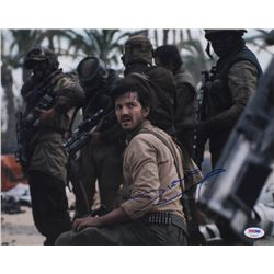 "Diego Luna Signed ""Rogue One: A Star Wars Story"" 11x14 Photo (PSA COA)"