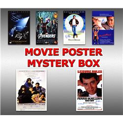 Hollywood Classic Movies Signed 11x17 Movie Posters Mystery Box - Series 5 (Limited to 100) ** Break