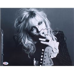 Courtney Love Signed 11x14 Photo (PSA COA)