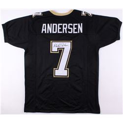 Morten Andersen Signed New Orleans Saints Jersey (JSA COA)