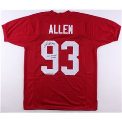 "Jonathan Allen Signed Alabama Crimson Tide Jersey Inscribed ""2015 National Champs"" (SGC COA)"
