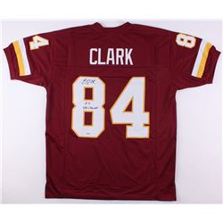 "Gary Clark Signed Washington Redskins Jersey Inscribed ""2X SB Champs"" (SGC COA)"