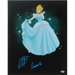 "Jennifer Hale Signed ""Cinderella"" 16x20 Photo Inscribed ""Cinderella"" (Beckett Hologram)"