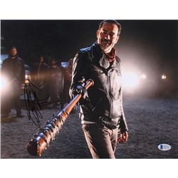 "Jeffrey Dean Morgan Signed ""The Walking Dead"" 11x14 Photo (Beckett COA)"