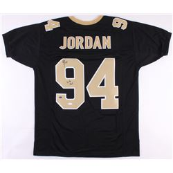 "Cameron Jordan Signed New Orleans Saints Jersey Inscribed ""Who Dat!"" (JSA COA)"