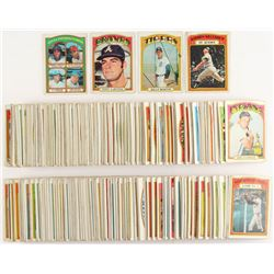 Partial Set of (407/787) 1972 Topps Baseball Cards with #93 NL Pitching Leaders, #451 Tony LaRussa,