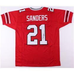 Deion Sanders Signed Atlanta Falcons Jersey (JSA COA)