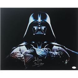 "David Prowse Signed ""Star Wars"" 16x20 Photo Inscribed ""Is Darth Vader"" (JSA COA)"