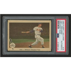 1959 Fleer Ted Williams #16 1941 Greatest Year (PSA Authentic)