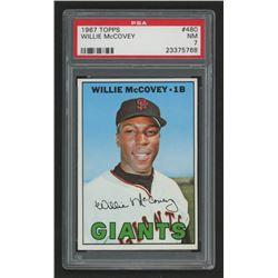 1967 Topps #480 Willie McCovey (PSA 7)