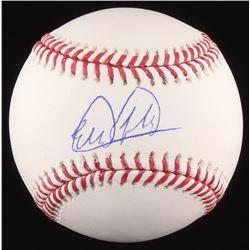 Estevan Florial Signed OML Baseball (JSA COA)