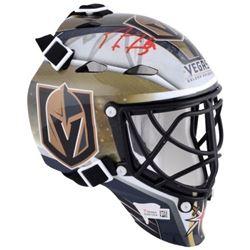 Marc-Andre Fleury Signed Vegas Golden Knights Mini Goalie Mask (Fanatics Hologram)