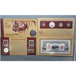 2004 LEWIS AND CLARD COINAGE & CURRENCY SET