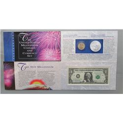 THE UNITED STATES MILLENNIUM COIN & CURRENCY SET