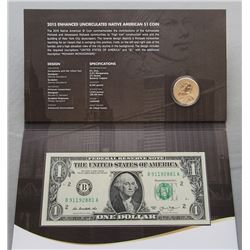 2015 MOHAWK IRON WORKERS COIN & CURRENCY SET