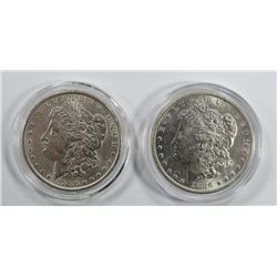 2-1886 MORGAN SILVER DOLLARS