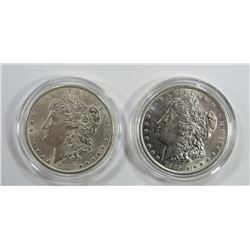 2-1889 MORGAN SILVER DOLLARS
