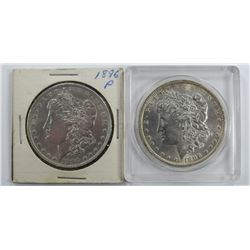 2-1896 MORGAN SILVER DOLLARS