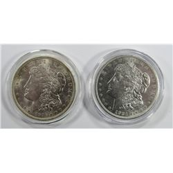 1921 & 1921-D MORGAN SILVER DOLLARS