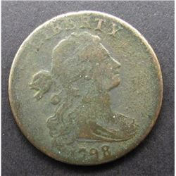 1798 LARGE CENT GOOD/VG