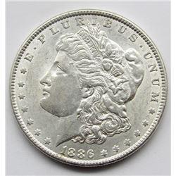 1886 UNC MORGAN DOLLAR