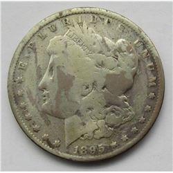 1895-O MORGAN DOLLAR AG/G