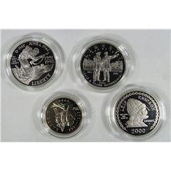 PROOF COMMEM LOT: 1993 WWII 2 COIN SET;