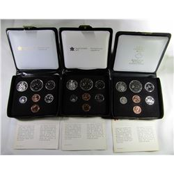 3- CANADA PROOF LIKE SETS WITH DOUBLE PENNY