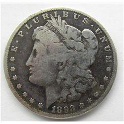 1893-CC MORGAN DOLLAR G/VG