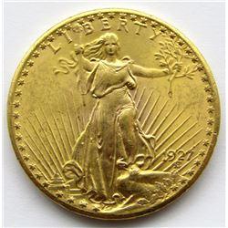 1927 $20 DOUBLE EAGLE ST.GAUDENS GOLD PIECE
