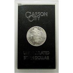 1883 GSA CARSON CITY MORGAN SILVER DOLLAR CC