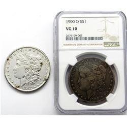 1900-O MORGAN $ NGC VG 10 & 1882