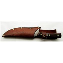 VINTAGE SCHADE USA OLD TIMER 150-T HUNTING KNIFE