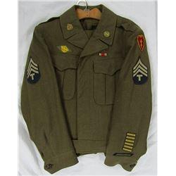 WWII U.S. ARMY ARTILLERY VETERANS UNIFORM