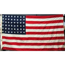 48 STAR AMERICAN FLAG WITH STITCHED STARS