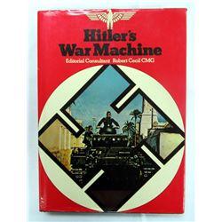 HITLER'S WAR MACHINE HARDCOVER BOOK. 1975.