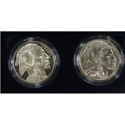 2001 P & D AMERICAN PROOF, UNC 2 COIN