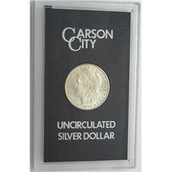 1880 GSA CARSON CITY MORGAN SILVER DOLLAR