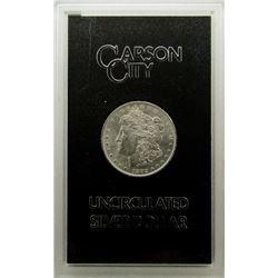 1882 GSA CARSON CITY MORGAN SILVER DOLLAR CC